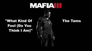 Mafia 3: WBYU: What Kind Of Fool (Do You Think I Am) - The Tams