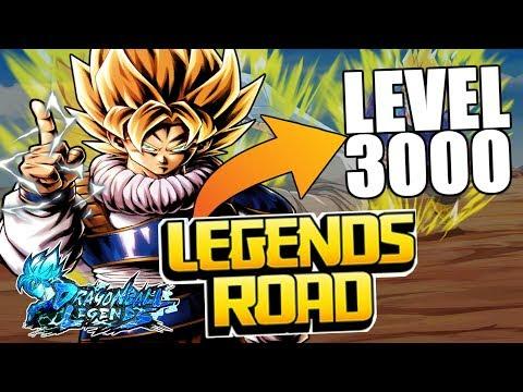 COMO CONSEGUIR al NUEVO GOKU LEGENDS ROAD a LEVEL 3000 RAPIDO | Dragon Ball Legends en Español