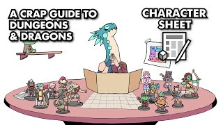 A Crap Guide to D&D [5th Edition] - Character Sheet