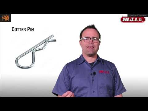 How to Remove Cotter Pins on Your Bull BBQ Grill