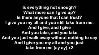 Eminem & Royce Da 5'9 - Take From Me [Lyrics]+in Description