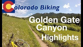 Highlights from Golden Gate Canyon State Park (Mountain Lion and Mule Deer Loops)