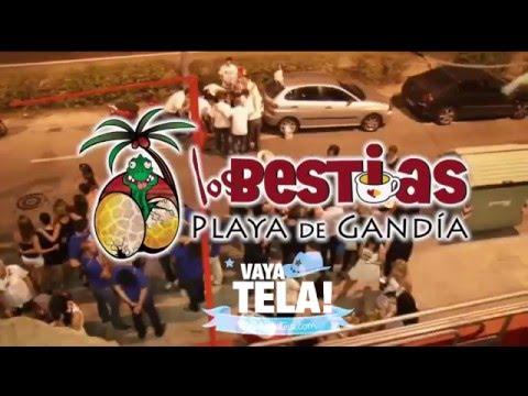 GRUPO VAYA TELA , CENAS Y ESPECTACULO EN LOS BESTIAS PLAYA DE GANDIA