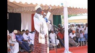 Keep politics out of graft war, says Raila - VIDEO