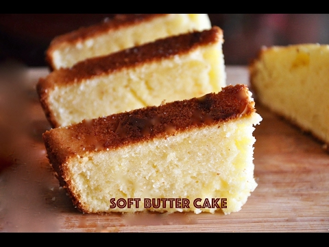 Video Butter Cake  - Soft - Simple - Yummy | Recipes 'R' Simple