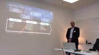 Christian Bach Von Ericsson Schweiz Präsentiert Die 5G-Roadmap