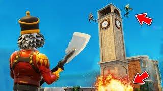The Legendary Tower TRAP! (Fortnite Battle Royale)