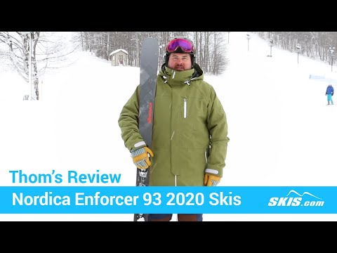 Video: Nordica Enforcer 93 Skis 2020 20 50