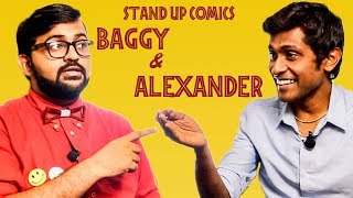 A Fun Conversation with Baggy and Alexander Babu | Breaking the Myths of Stand-Up Comedy | MY 94