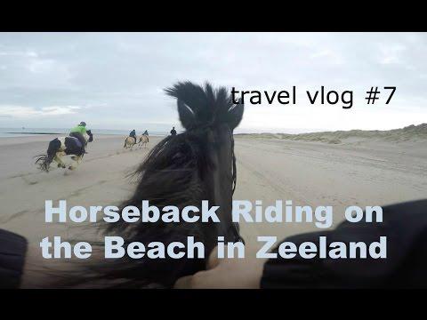 Video Riding in Zeeland [the Netherlands] : Travel Vlog #7