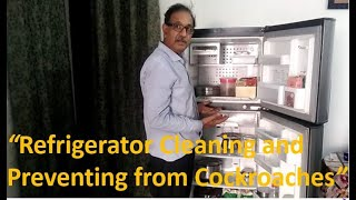 Refrigerator Cleaning and Preventing from Cockroaches (English)