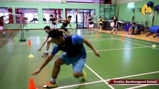 All Training Exercises for fresh Badminton Player..Whole Workout