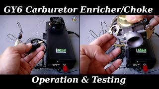 GY6 Enricher / Automatic Choke Operation & Testing