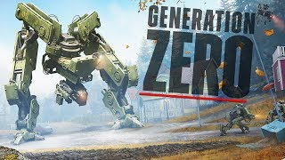 [LIVE🔴] GIANT INVASION OF SWEDEN, Open World Robot Survival Simulator | Generation Zero Gameplay