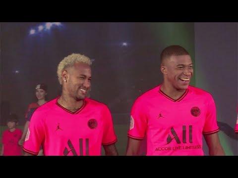 Neymar & Co. auf dem Laufsteg - PSG präsentiert neues Trikot