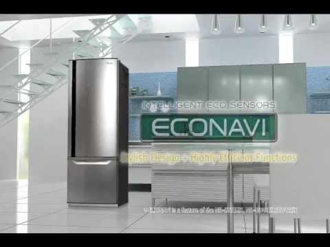 Panasonic Econavi Refrigerators