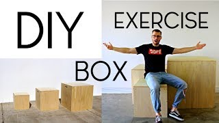How To Make A DIY Exercise Box