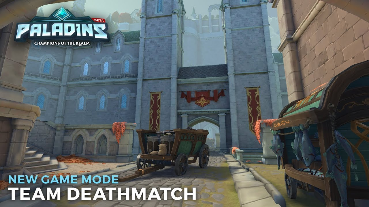 Paladins: Champions of the Realm (new: a red thing with magic lizards!)