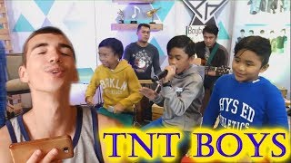 "BoybandPH sings ""Stand Up for Love"" with TNT Boys 