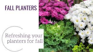 Fall Planters | Www.gardencrossings.com