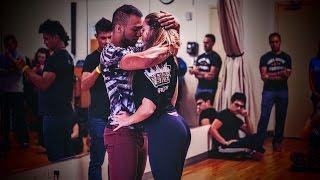 Layssa Liebscher & Arthur Santos - Favorite Moves Zouk Workshop - 2016 NYC Zouk Festival - Lean On