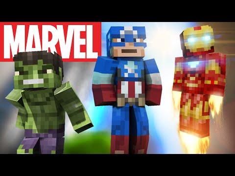 Marvel Avengers Skins In Minecraft - Skins para minecraft pe quiksilver