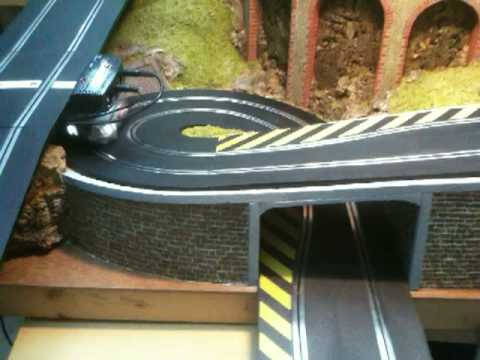 Scalextric Slot Car Track Test