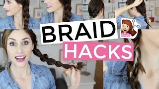 Braid Hacks Every Girl Needs to Know -  [ But First, Coffee ]