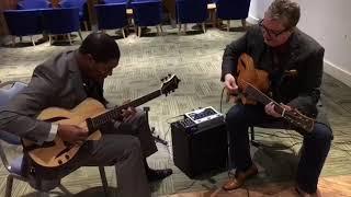 CIYO BROWN AND MARTIN TAYLOR AT THE LONDON GUITAR SHOW!