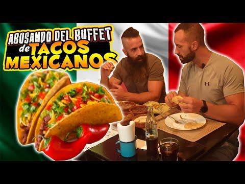 ABUSANDO DEL BUFFET DE TACOS MEXICANOS - *¡El único en España!* HD Mp4 3GP Video and MP3