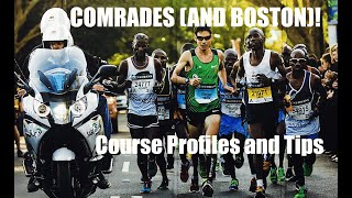 COMRADES ULTRA AND BOSTON MARATHON COURSE TIPS! Sage Canaday Running and Training