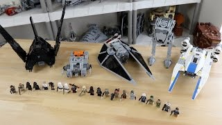 LEGO Star Wars Rogue One Overview (ALL SETS) - Fall 2016