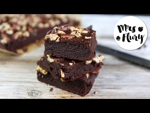 Gesunde Brownies Rezept ohne Zucker, glutenfrei   Gesund und lecker backen