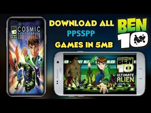 Ben 10 Insane High Graphics Android Games!Apk+Data Ben 10 Games