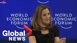"""Chrystia Freeland: Too easy to blame your problems on """"people who don"""
