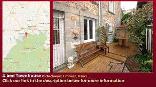 preview picture of video '4-bed Townhouse for Sale in Rochechouart, Limousin, France on frenchlife.biz'