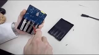 Уничтожаем ✞ бракованный товар с Алиэкспресс - зарядное устройство Inteleger i4 Nitecore