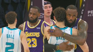 LeBron James Destroys LaMelo Ball's Hornets With Crazy 37 Points! Lakers vs Hornets