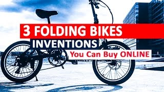 Lastest Folding Bikes: Impressive Cycling - Awesome Inventions You Can Buy Online || NIYDKE #34