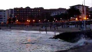 preview picture of video 'Sandstrand von Cala Mayor - Mallorca 2009'