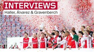 'Deze is voor de fans!'   Reacties Haller, Álvarez & Gravenberch na bekerfinale ?