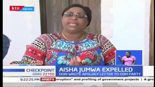 ODM governing council cracks whip on Aisha Jumwa |House of Cards