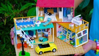 3 DIY Miniature Doll House Container Rooms