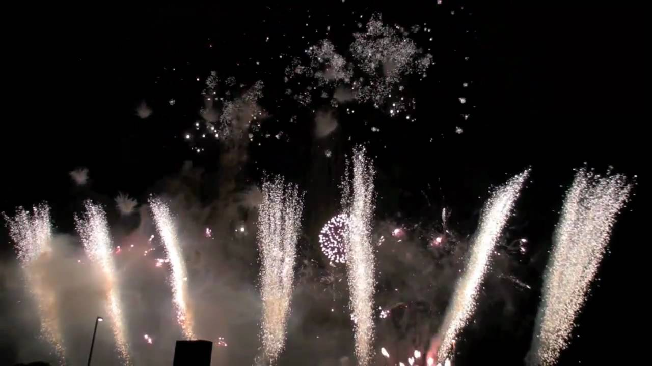 'Welcome to Our World' fireworks