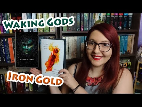 Iron Gold | Waking Gods | Book Reviews | #BooktubeSFF