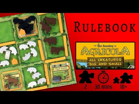 Agricola: All Creatures Big and Small - The Rulebook