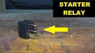 How To Test and Replace A Starter Relay