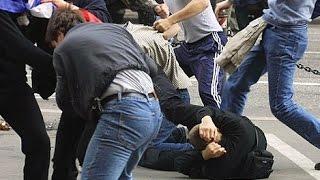Жестокая драка на Молодежной улице (Химки)