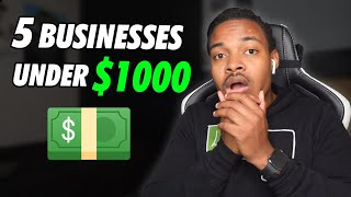 5 Business Ideas You Can Start With 1000 (Can Start Tomorrow)