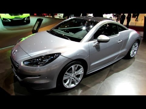 2013 Peugeot RCZ - Exterior and Interior Walkaround - 2012 Paris Auto Show
